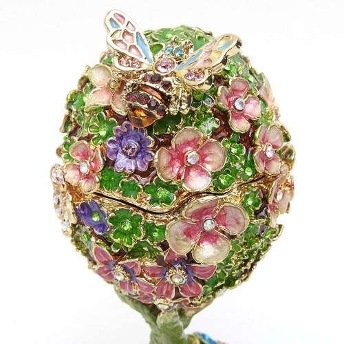 Victorian Art Nouveau Egg