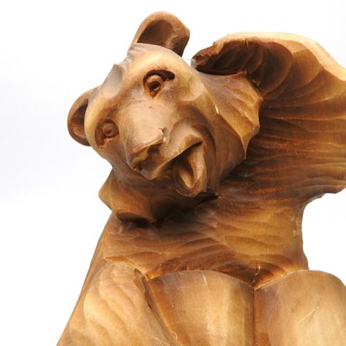Bear Scholar Bogorodsk Carving