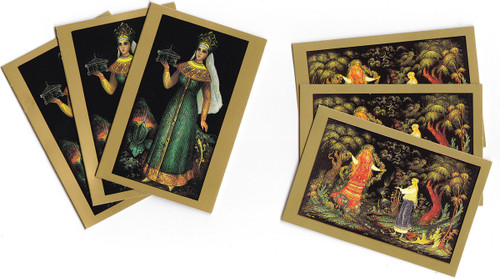 Russian Lacquer Art Gift Cards