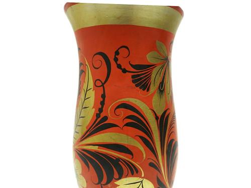 Khokhloma Flower Vase