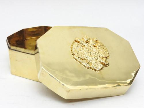 Brass Eagle Desk Top Box