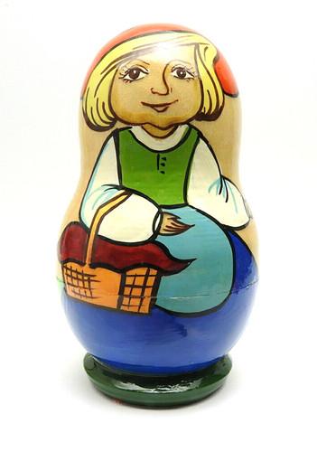 Little Red Riding Hood Matryoshka Doll