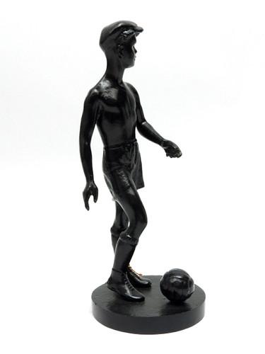 Kasli Soccer Playing Boy