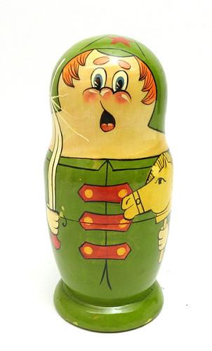 Red Army Nesting Matryoshka Dolls