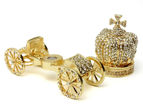 Brilliant Crystal Coronation Carriage