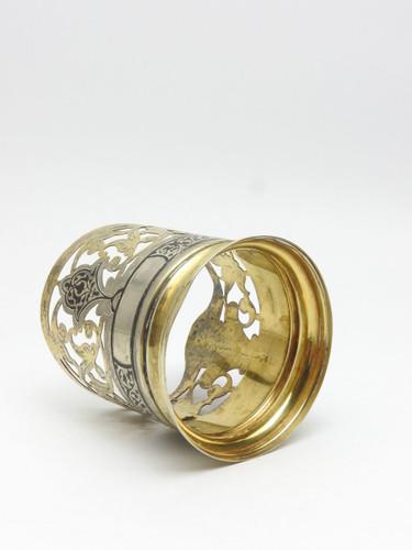 Niello Tea Glass Holder