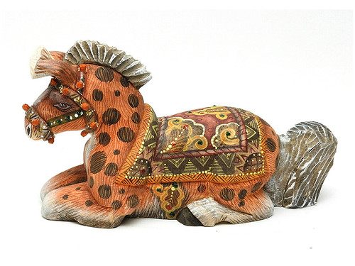 Horse Studio KIKIN Carved Figure
