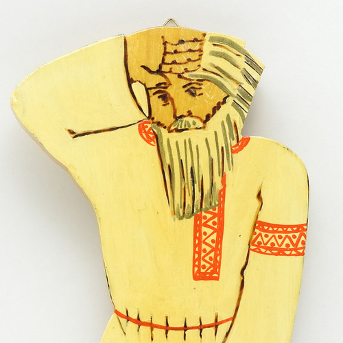 Muromets Plowing His Field [Yellow] Wall Panel