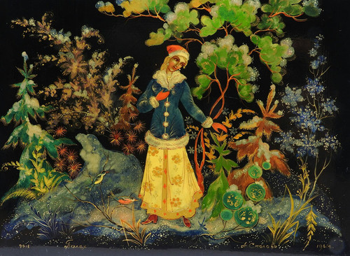 The Snow Maiden (Palekh 1961)