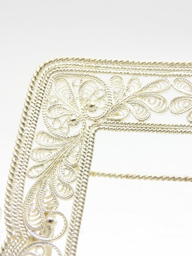 Russian Filigree Picture Frame