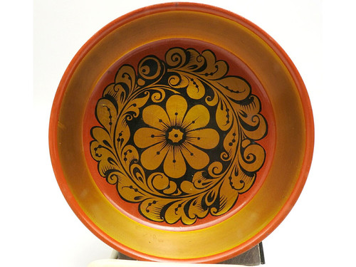 Khokhloma Dessert Bowl