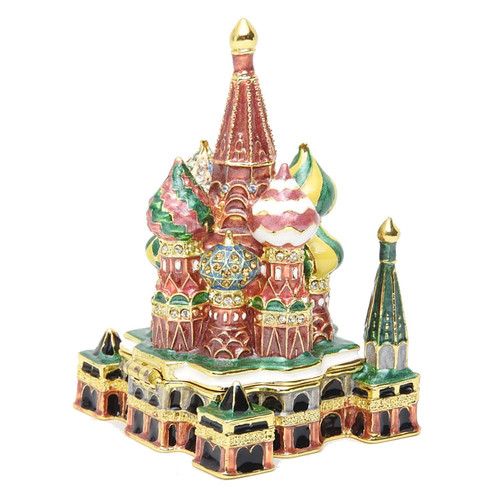 St. Basil's Cathedral Enamel Box