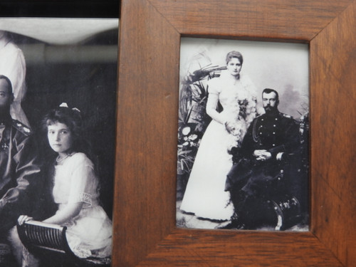 Wedding day portrait, 1894