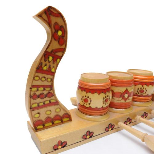 "Slav ""Viking"" Spice Boat Set"