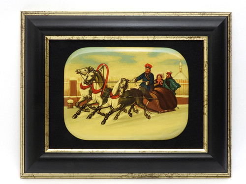Russian Imperial Tsar Alexander II 1855 Miniature Painting