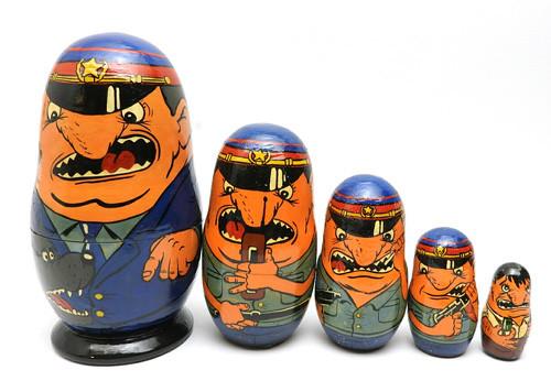 Police Matryoshka (satire)