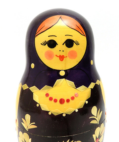 "Kirov ""Straw"" Matryoshka Doll 10pc"