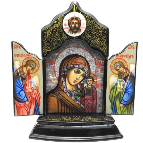 Kazan Mother of God Small Triptych
