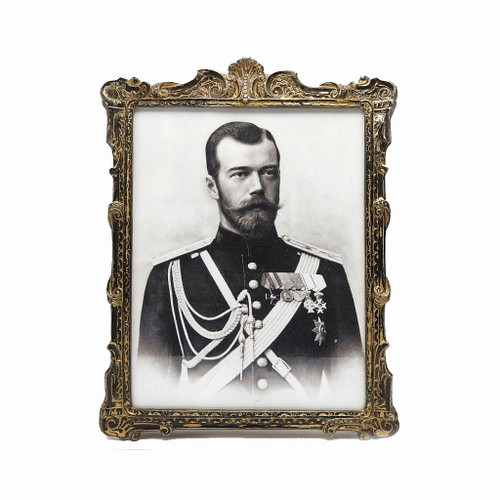 Antique Frame with NII Portrait