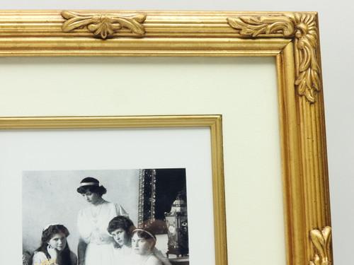 Russian Grand Duchesses Portrait Hand Tinted