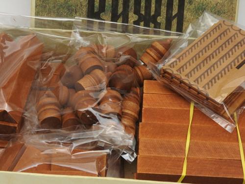 Russian Church Kizhi Toy Building Blocks