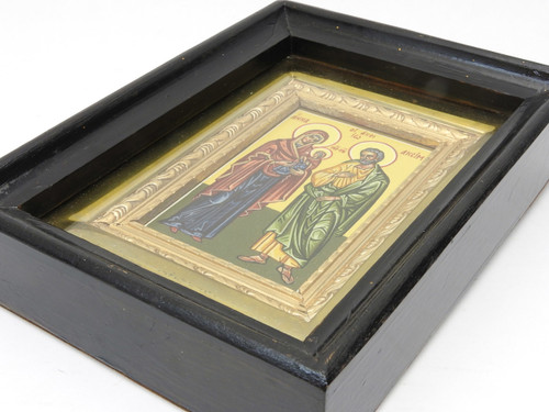 Joachim and Anna Hand Painted Icon