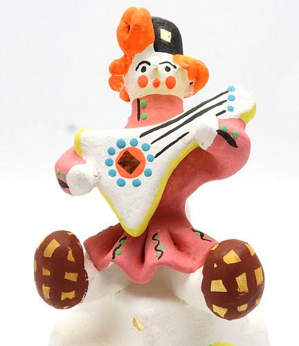 Dymkovo Toy Boy on the Stove