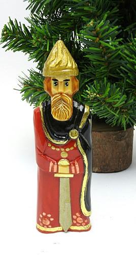 Medieval Boyar Guard Hand Made Ornament