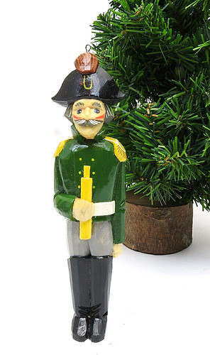 Russian Admiral Hand Made Ornament