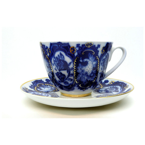 Necklace Teacup and Saucer [USSR]