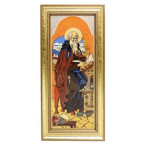 St. Nestor the Chronicler,  by Vasnetsov