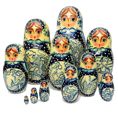 Gzhel Motifs from Khotkovo