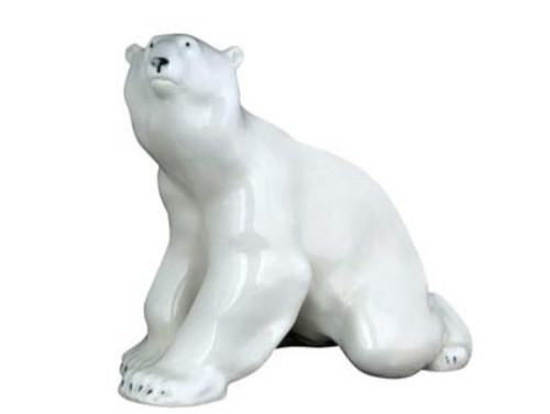 Polar Bear, sitting
