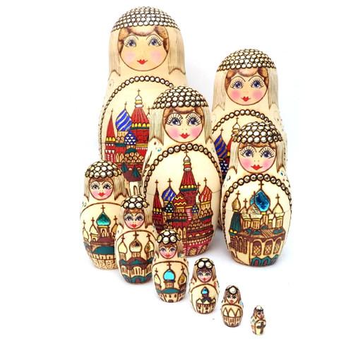 St Basil Artistic Matryoshka