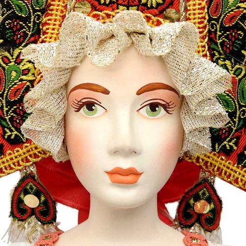 Village Wedding Russian Costume Doll