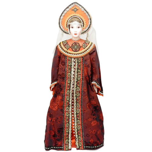 19th Century Festive Russian Costume Doll