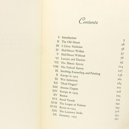 Exploring the Dangerous Trades: The Autobiography of Alice Hamilton, M.D.