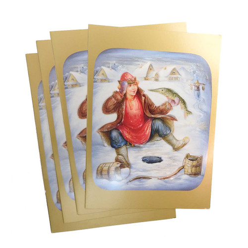 The Magic Pike Christmas Cards [Box of 12] SALE!