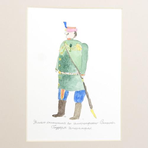 Watercolor by Crown Prince Alexei