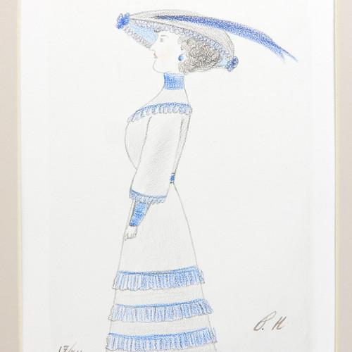 Pencil Drawing by Grand Duchess Olga