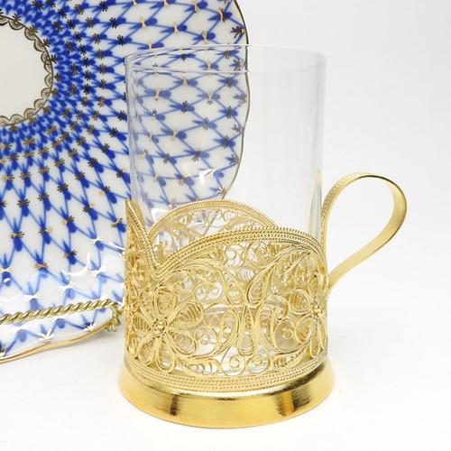 Daisy (Маргаритка) Filigree Tea Glass Holder