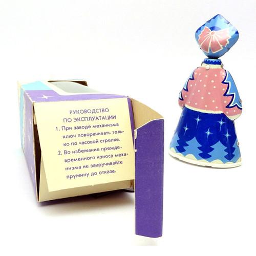 "Mechanical Toy ""Снегурочка"" Snow Maiden Original Box"