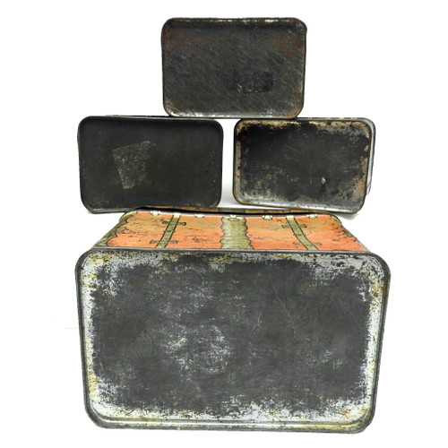 "Five ""Swee-Touch-Nee"" Vintage Tea Tins or Caddies"