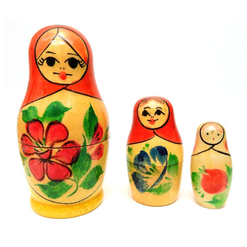 Vyatka 3-nest Matryoshka Doll