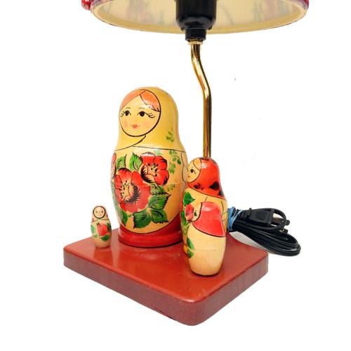 Vyatka Matryoshka Nesting Doll Desk Lamp