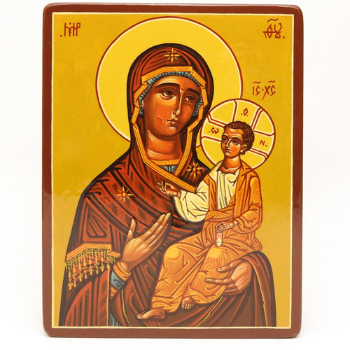 Mother  and Child  Icon Iverskaya