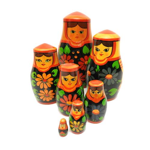 """Brest """"Daisy"""" Maidens Matryoshka Nesting Doll"""