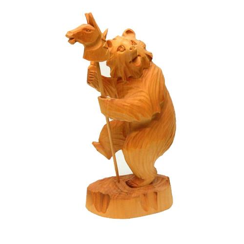 Hobby Horse Bear Bogorodsk Carving