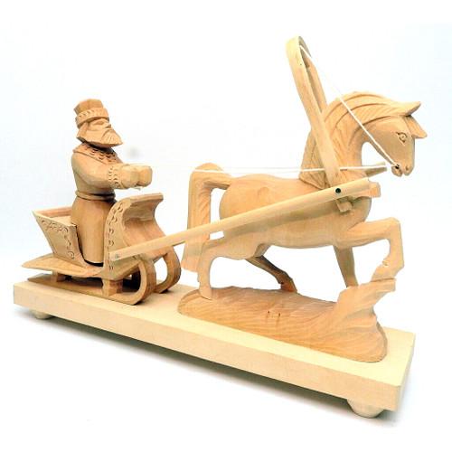 Coachman in a Horse-Drawn Sleigh (Кучер в конных санях)