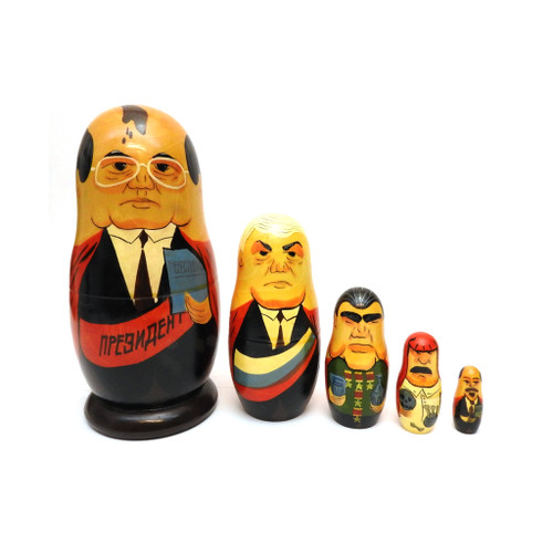 Super President Gorbachev Matryoshka Doll